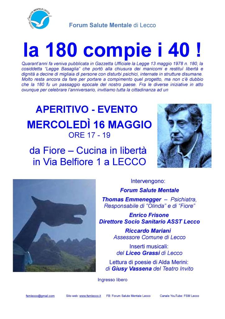 locandina evento 40 anni legge 180