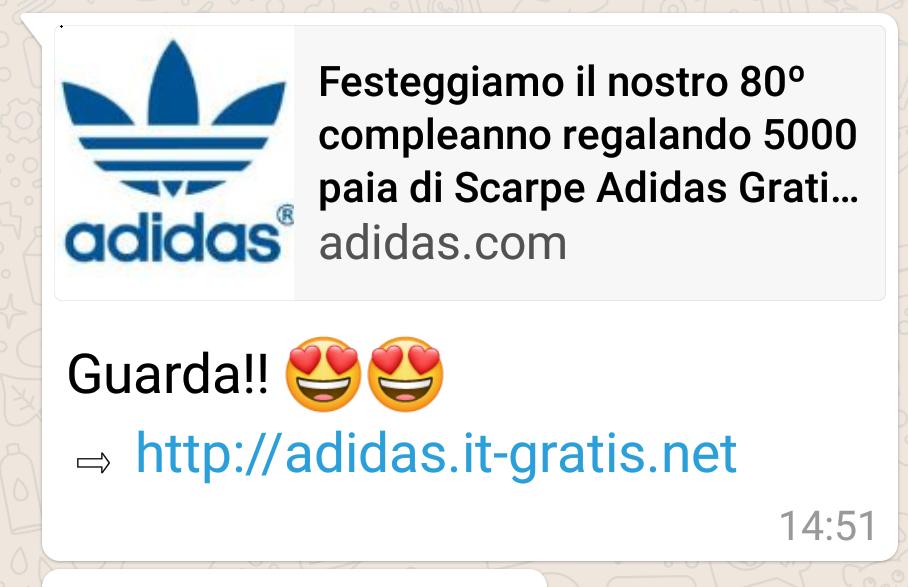 phishing adidas