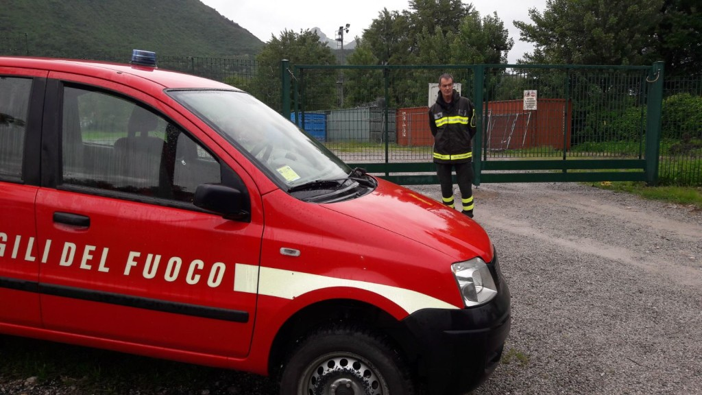 pompieri caserma vigili fuoco Orazio Secchi