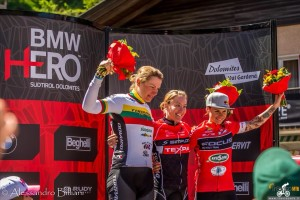Mara Fumagalli podio Bmw-Hero 16 giugno