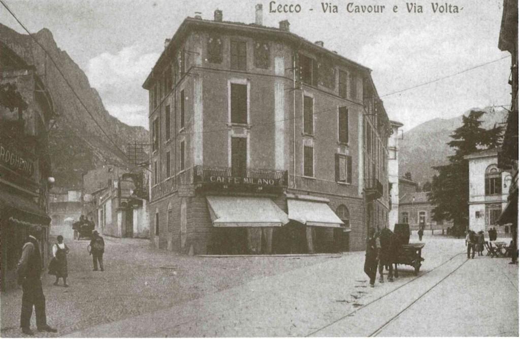 VIA-CAVOUR-E-VIA-VOLTA-LECCO-1919