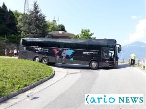 bus blocca strada bonzeno bellano