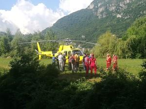 nuova croce grignetta elicottero vvf pompieri