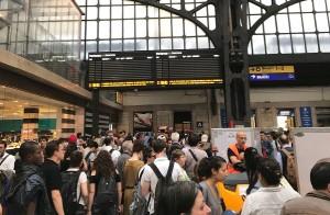 stazione milano treni tabellone pendolari