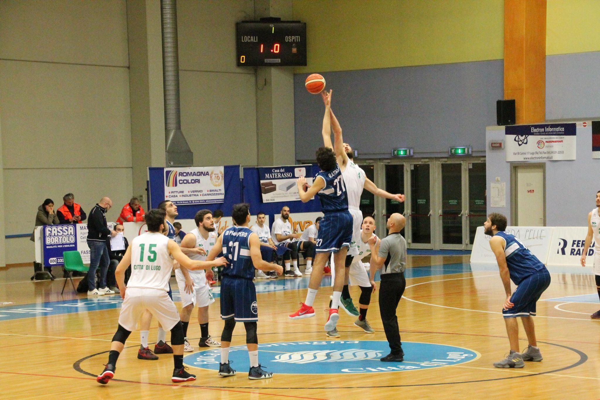 Casa Del Materasso Lugo basket: gimar lecco corsara sul campo di lugo. vittoria 83